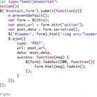 jQuery PHP Ajax Form