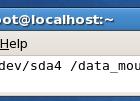 e2label linux utility