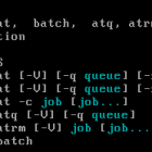 at and batch Linux Scheduler commands